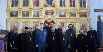 В Никольском храме села Рогачево состоялось братское совещание духовенства Рогачевского благочиния