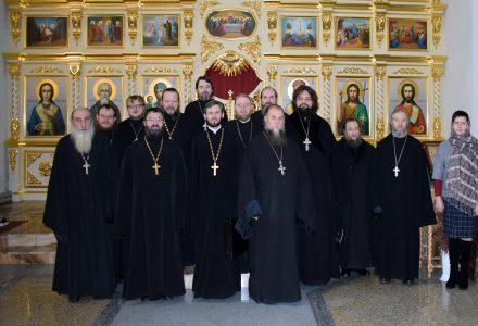 Состоялось годовое отчетное собрание духовенства Рогачевского благочиния