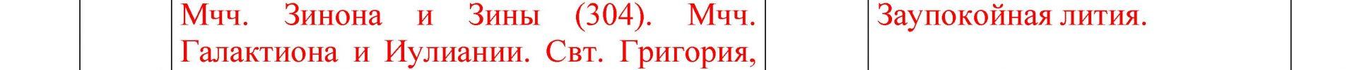 Расписание богослужений Преображенского храма деревни Спас-Каменка на июль 2020 года