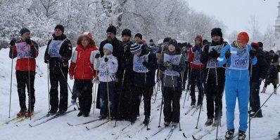 Лыжный переход «От храма к храму, от спорта к вере!» в Рогачевском благочинии стал рекордным по числу участников