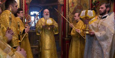 Епископ Видновский Тихон возглавил празднование 310-летнего юбилея Свято-Никольского храма Рогачевского благочиния