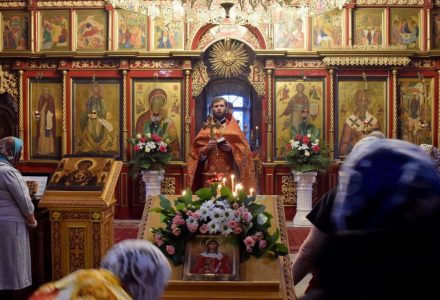 В селе Озерецкое состоялось братское собрание духовенства Рогачевского благочиния