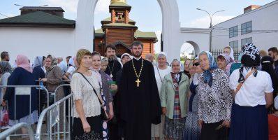 Прихожане храмов Рогачевского благочиния совершили паломничество к святым мощам святителя Спиридона Тримифунтского