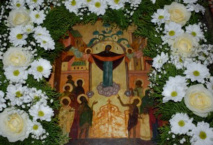 «Твоего Покрова праздник чествующе…» Прихожане Рогачевского благочиния радостно встретили праздник Покрова Пресвятой Богородицы