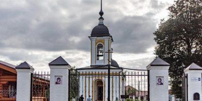 Расписание богослужений Преображенского храма деревни Спас-Каменка на май 2021 года